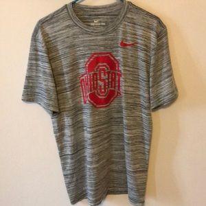 Ohio State Nike Dri-Fit Shirt. Medium